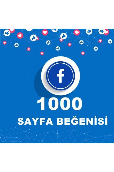 Facebook 1000 Sayfa Beğenme ( Takipçi )
