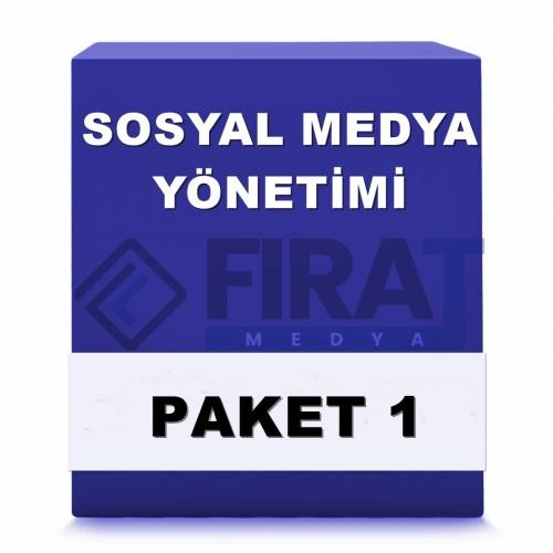 Sosyal Medya Yönetimi ( Paket 1 )