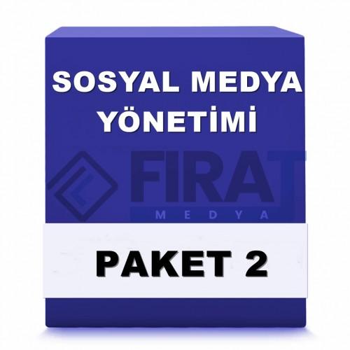 Sosyal Medya Yönetimi ( Paket 2 )